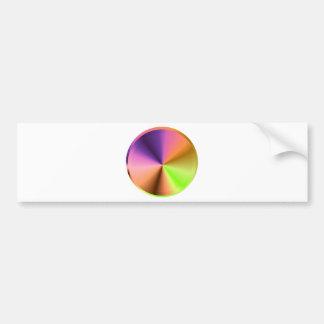 NOVINO Golden Sparkle Shades Bumper Sticker