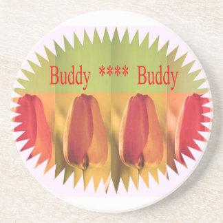 NOVINO Grand Tulip Buddy Buddy Drink Coasters