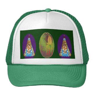 NOVINO Green n Gold ReikiHealingArt Trucker Hats