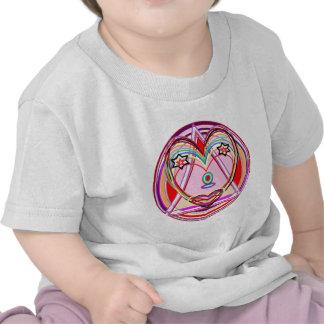 NOVINO Heart Chakra - Artistic Presentation T Shirt