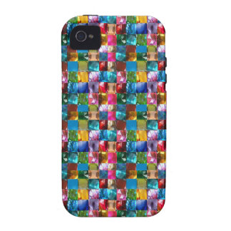 NOVINO Jewel Crystal Stones Healing Reiki Art GIFT iPhone 4/4S Cover