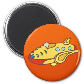 NOVINO Super Jet Fridge Magnet