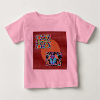 NOVINO Variety Collection Squares Rounds NumberOne T Shirt