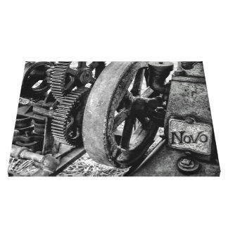 Novo Antique Gas Engine Canvas Print
