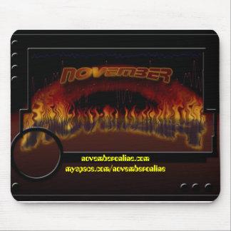 NoVoGOBIG, novemberonline.commyspace.com/novemb... Mouse Pad