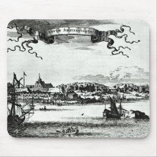 Novum Amsterodamum, c.1667 Mouse Mat