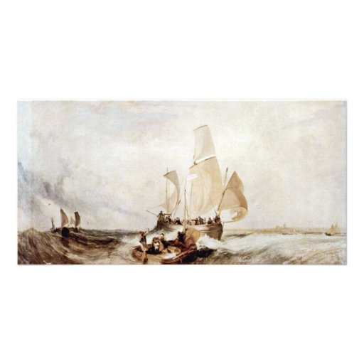 Now For The Painter Passengers To Board By Turner Photo Greeting Card