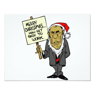 Now Get Back To Work Christmas Boss Card