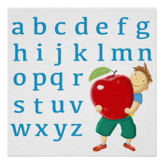 Now I know my abc! Poster