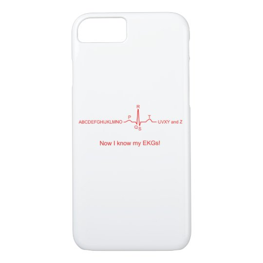 Now I know my EKGs iPhone Case
