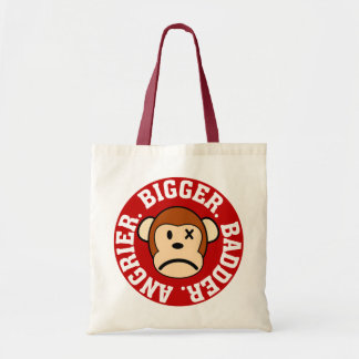 Now I'm Even Bigger Badder and Angrier Than Before Budget Tote Bag