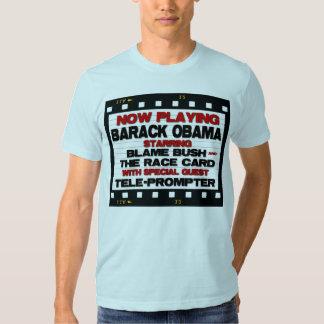 Now Playing  - Anti Barack Obama Tee Shirt