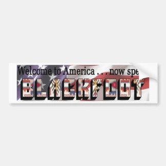 Now Speak Blackfoot Bumper Stickers