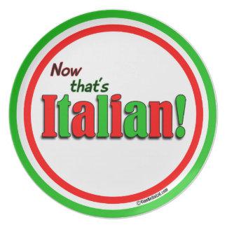 Now That's Italian! Dinner Plates