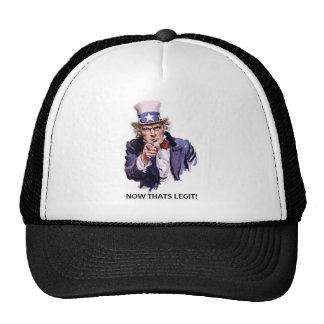 Now Thats Legit! Hat
