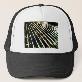 Now that's metal... trucker hat