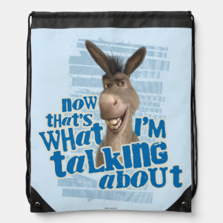 Now That's What I'm Talking About! Drawstring Bag