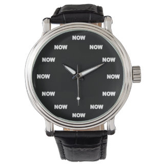 """NOW"" Watch (Black)"