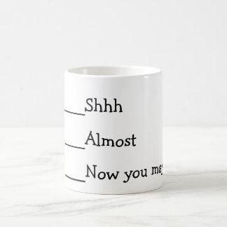 Now you may speak funny meme basic white mug