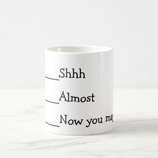 Now you may speak funny meme mug