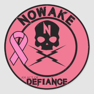 "NOWAKE ""An Act of Defiance"" BCA Stickers"