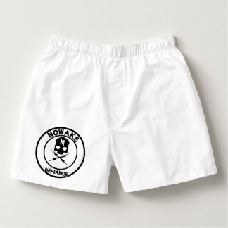 "NOWAKE ""An Act of Defiance"" Boxers"