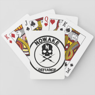 NOWAKE An Act of Defiance Playing Cards