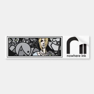 Nowhere Ink/Transient One Sticker Bumper Sticker