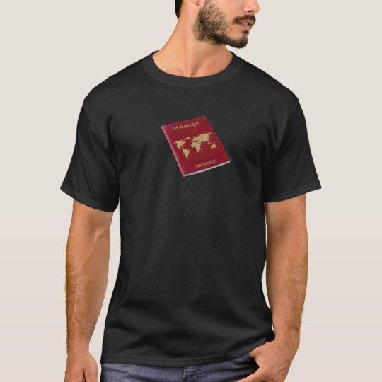 Nowhere passport T-Shirt
