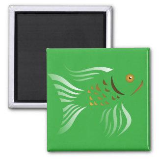Nowruz Goldfishy 2016 Square Magnet