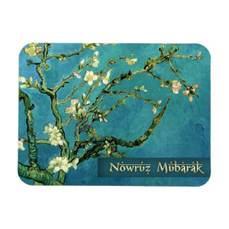 Nowruz Mubarak. Persian New Year Gift Art Magnets