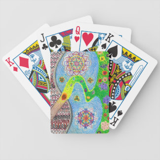 Nowruz Spring and Life Renewal Bicycle Cards