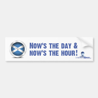 Now's the Day... Bumper Sticker