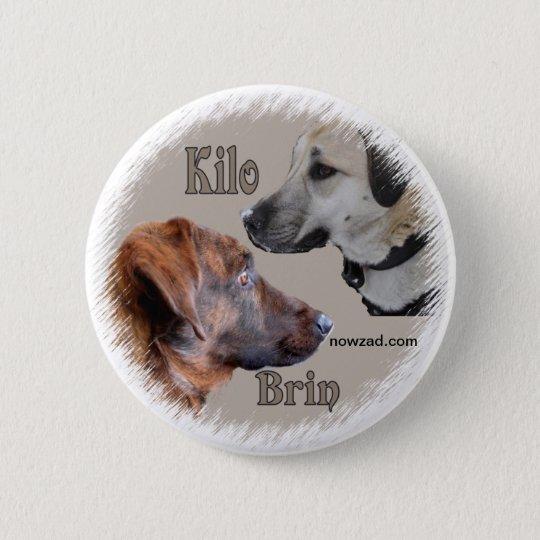 Nowzad Rescue Dogs Brin & Kilo Badge