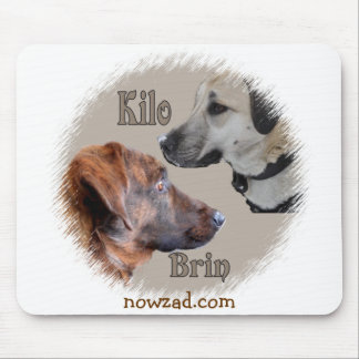Nowzad Rescue Dogs Brin & Kilo Mousepad