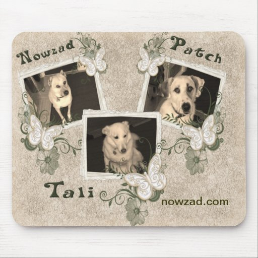 Nowzad Rescue Dogs Mousepad