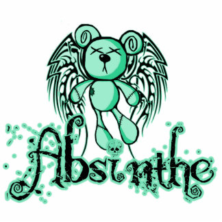 NOXIOUS TEDDY - Absinthe The Green Fairy Cut Outs