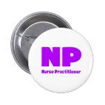 NP Nurse Practitioner purple Badges