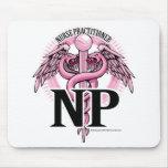 NP PINK Caduceus Mouse Pad