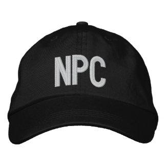 NPC EMBROIDERED BASEBALL CAPS
