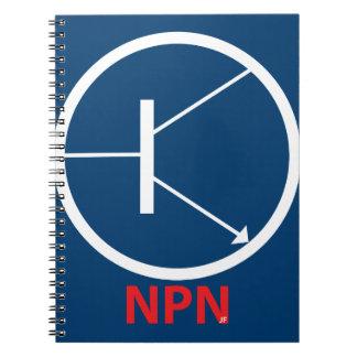 NPN Transiator Photo Notebook (80 Pages B&W)