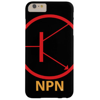 NPN Transistor Barely There iPhone 6 Plus Case