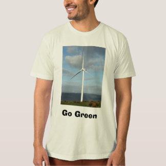 npower_windfarm_hires, Go Green T-Shirt