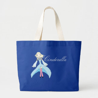 NPPG Cinderella Ballgown Grocery Tote Jumbo Tote Bag