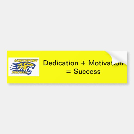 NPYFC Dedication Bumper Sticker