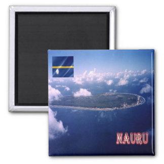 NR - Nauru - Aerial View Magnet
