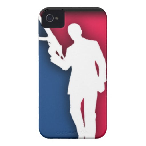"""""""NRA"""" Official League Logo iPhone 4 Cover"""