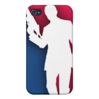 """NRA"" Official League Logo Cover For iPhone 4"