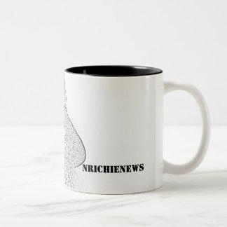 NRichieNews monochrome mug