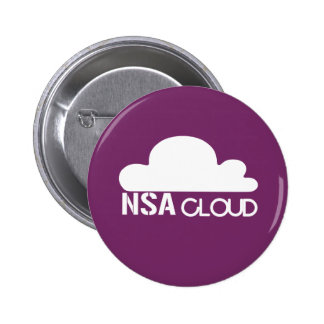 NSA in the Cloud 6 Cm Round Badge